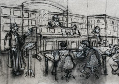 Drawing for Court Scene