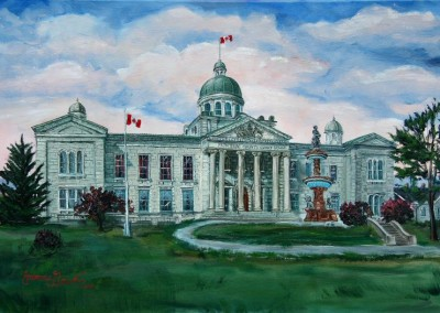 Frontenac Courthouse oil