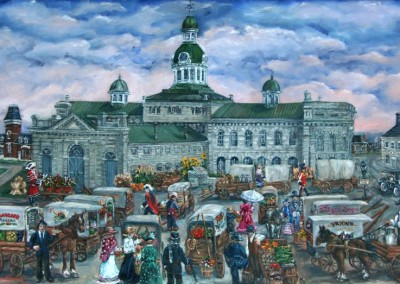 Kingston historic market