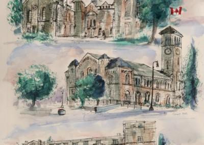 Queen's University Theological Hall, Grant Hall, Queen's John Deutsch Centre,