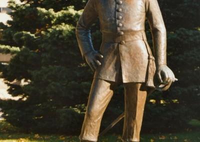 RMC  Bruce Bronze Statue digital
