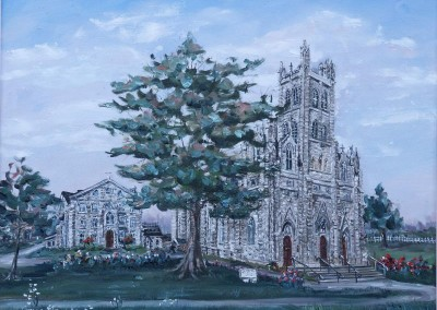 St. Mary's Cathedral in oil