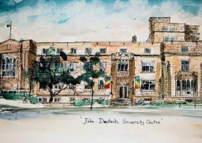 queen's john d.centre